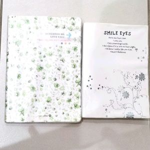2 notebooks